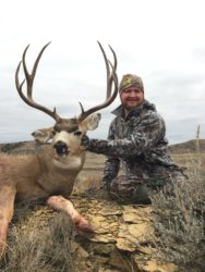 Guided Whitetail Deer hunts at Cottonwood Outfitters in Montana